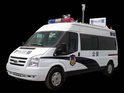 公安交警指挥车