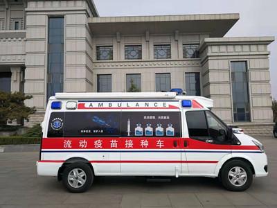 山东普天鲁威推出全新疫苗接种新车型
