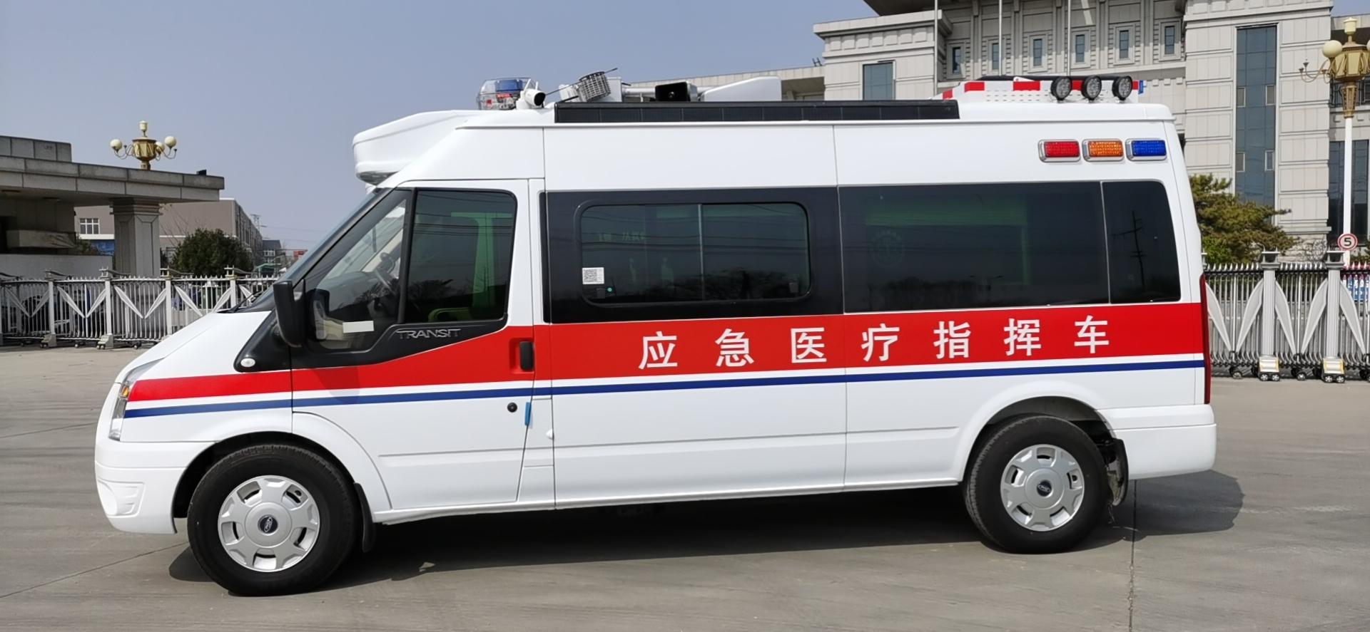 最新推出应急医疗指挥车